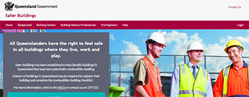 Our Experience - Safer Buildings Website Development